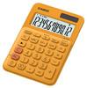Калькулятор CASIO MS-20UC-RG-S-EC,  12-разрядный, оранжевый вид 1