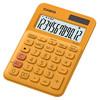 Калькулятор CASIO MS-20UC-RG-S-EC,  12-разрядный, оранжевый вид 3