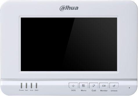 Видеодомофон DAHUA DHI-VTH1520A,  белый