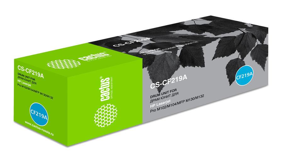 Блок фотобарабана Cactus CS-CF219A ч/б:12000стр. для M104a Pro/M104w Pro/M132a Pro/M132fn Pro HP