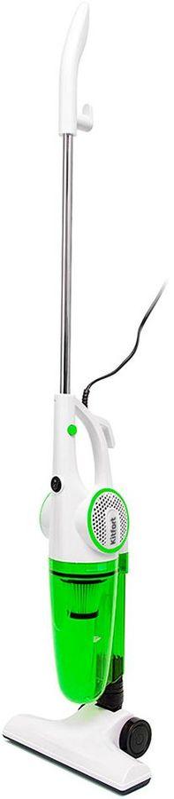 Ручной пылесос KITFORT КТ-523-3, 600Вт, белый/зеленый