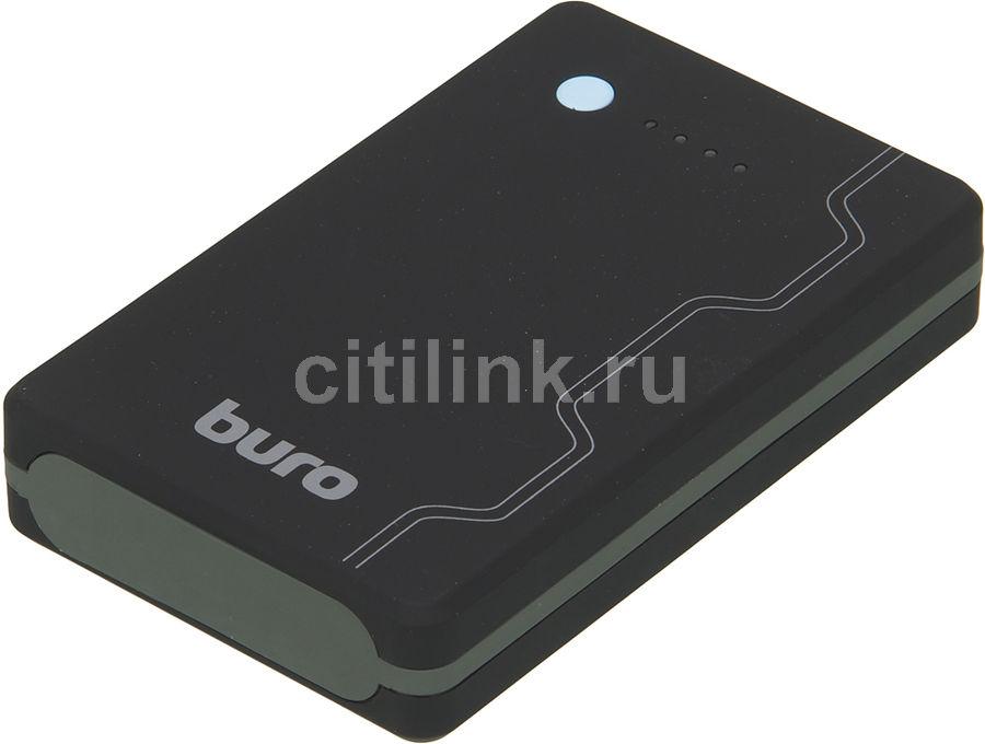 Внешний аккумулятор (Power Bank) BURO RA-13000-QC3.0,  13000мAч,  черный
