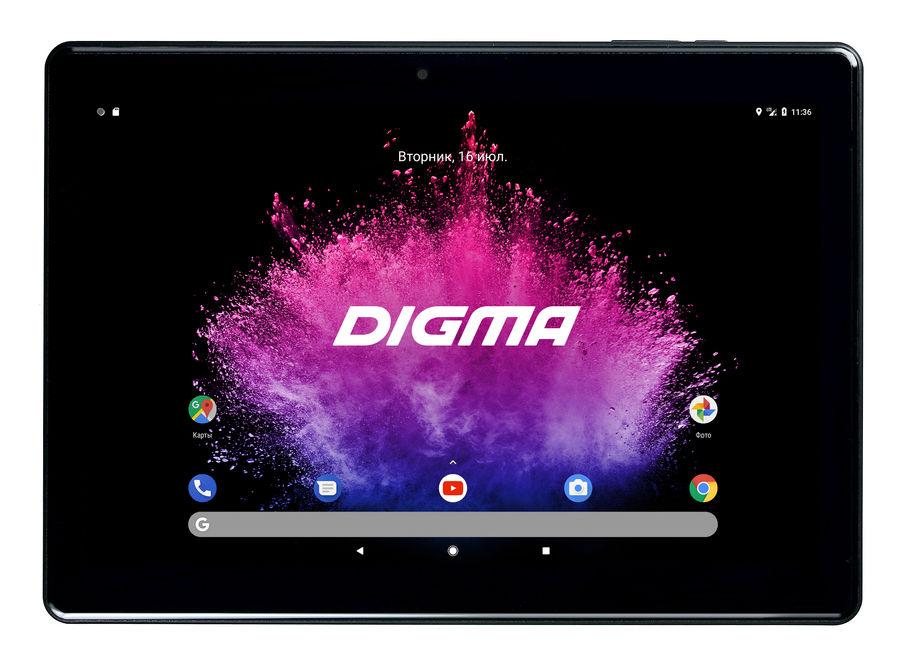 Планшет DIGMA Optima 1025N 4G,  2GB, 16GB, 3G,  4G,  Android 7.0 черный [ts1190ml]