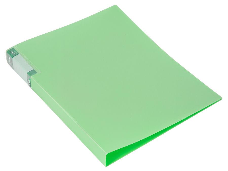 Папка с метал.зажим Бюрократ Gems GEM07CGRN A4 пластик 0.7мм торц.карм с бум. встав зеленый турмалин