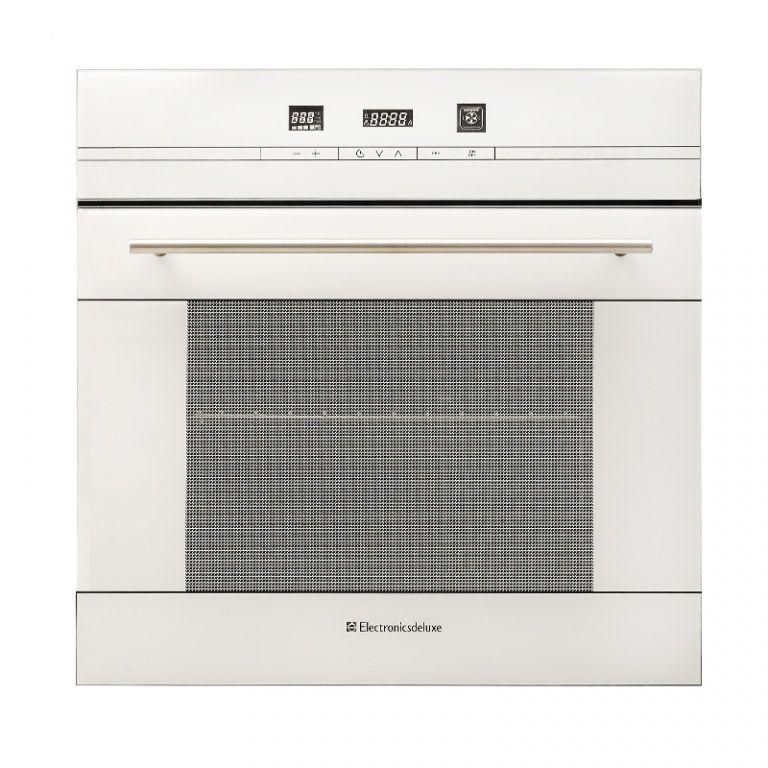 Духовой шкаф ELECTRONICSDELUXE 6006.04 эшв-020,  белый