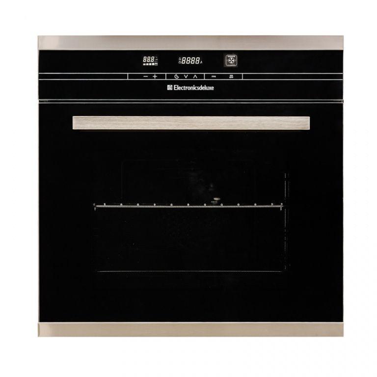 Духовой шкаф ELECTRONICSDELUXE 6006.04 эшв-021,  черный