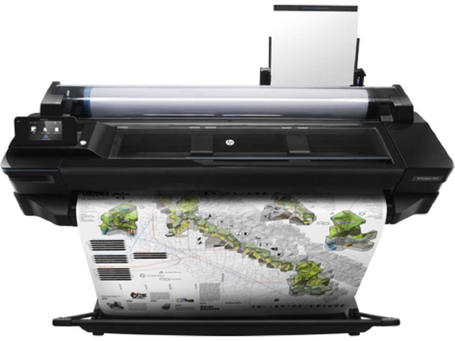 "Плоттер HP Designjet T520 e-printer 2018ed (CQ893C) A0/36"" цена 2017"