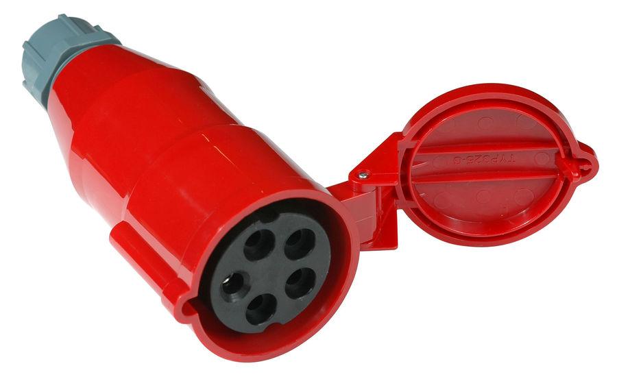 Вилка Lanmaster (LAN-IEC-309-32A3P/F)