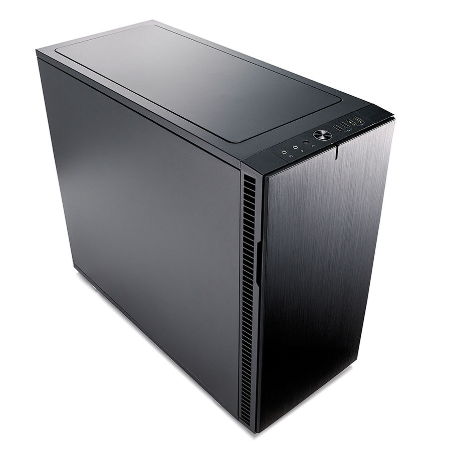 Корпус ATX FRACTAL DESIGN Define R6, Midi-Tower, без БП, черный корпус matx fractal design define mini c tg mini tower без бп черный