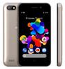 Смартфон DIGMA HIT 8Gb,  Q401 3G,  золотистый вид 3