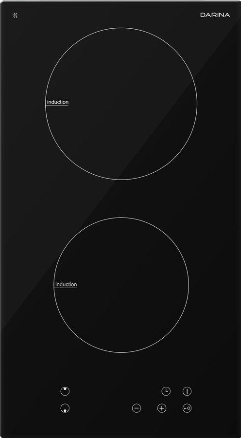 Индукционная варочная панель DARINA P EI 523 B,  индукционная,  независимая,  черный