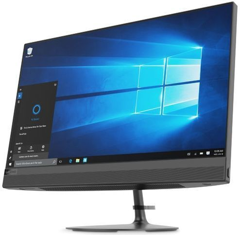 Моноблок LENOVO IdeaCentre 520-22IKL, Intel Core i3 7100T, 4Гб, 1000Гб, Intel HD Graphics 630, DVD-RW, Free DOS, черный [f0d4001trk] моноблок lenovo ideacentre 520 22 21 5 led core i3 6006u 2000mhz 4096mb hdd 1000gb intel hd graphics 520 64mb free dos [f0d50003rk]