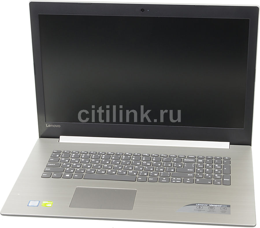 Ноутбук LENOVO IdeaPad 320-17IKB, 17.3, Intel Core i3 7130U 2.7ГГц, 8Гб, 1000Гб, nVidia GeForce 940MX - 2048 Мб, Windows 10, 80XM00J8RU, серый ноутбук lenovo ideapad 320 15isk 15 6 intel core i3 6006u 2 0ггц 4гб 2тб nvidia geforce 920mx 2048 мб windows 10 черный [80xh01djrk]
