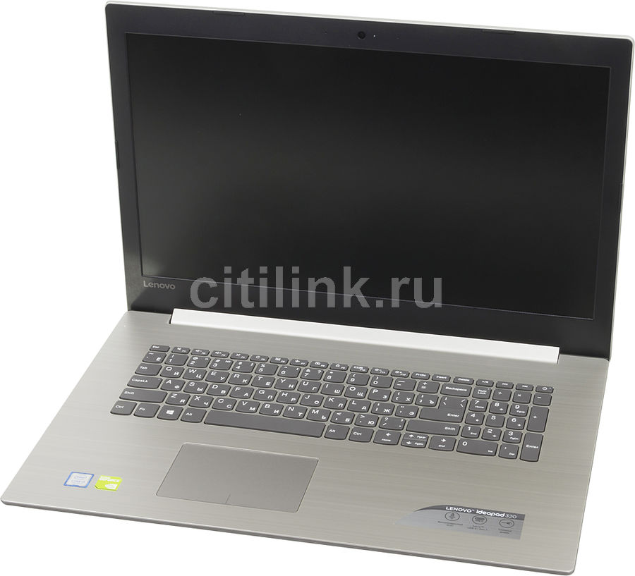 Ноутбук LENOVO IdeaPad 320-17IKB, 17.3, Intel Core i3 7130U 2.7ГГц, 4Гб, 500Гб, nVidia GeForce 940MX - 2048 Мб, Windows 10, 80XM00J9RU, серый ноутбук lenovo ideapad 320 15isk 15 6 intel core i3 6006u 2 0ггц 4гб 500гб nvidia geforce 920mx 2048 мб free dos 80xh01ehrk черный