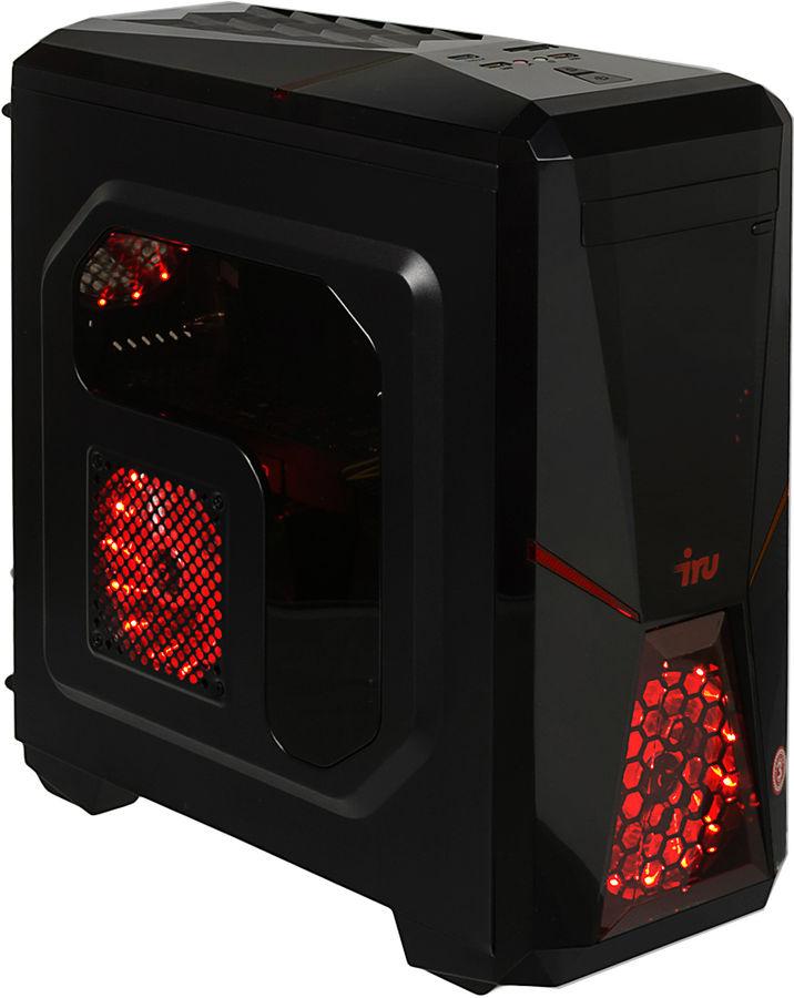 Компьютер  IRU Home 515,  Intel  Core i5  7400,  DDR4 8Гб, 1000Гб,  120Гб(SSD),  NVIDIA GeForce GTX 1060 - 6144 Мб,  Windows 10 Home,  черный [1014820]