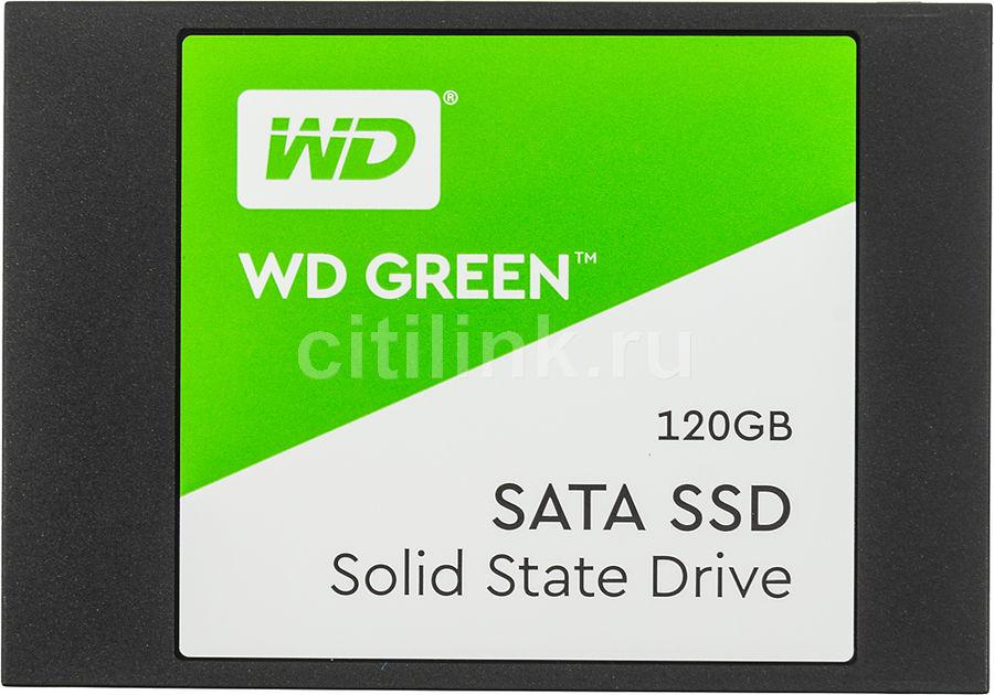 SSD накопитель WD WD Green WDS120G2G0A 120Гб, 2.5