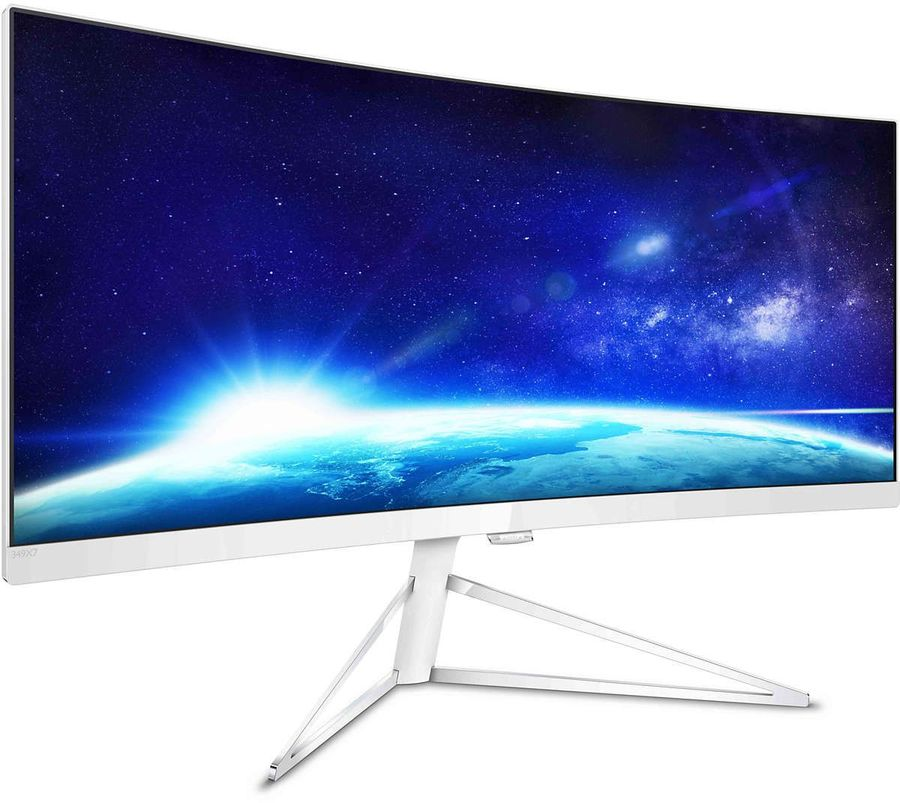 Монитор ЖК PHILIPS 349X7FJEW (00/01) 34, черный монитор жк philips bdm3470up 00 01 34 черный