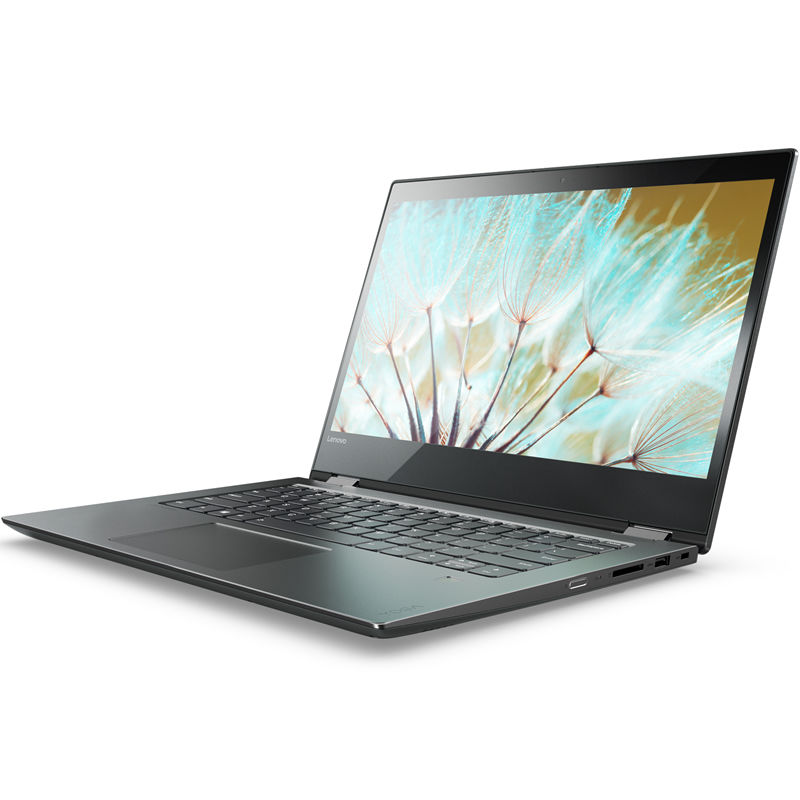 Ноутбук-трансформер LENOVO YOGA 520-14IKBR, 14, Intel Core i5 8250U 1.6ГГц, 8Гб, 1000Гб, Intel HD Graphics 620, Windows 10, черный [81c8003srk]Ноутбуки<br>экран: 14; cенсорный экран; разрешение экрана: 1920х1080; тип матрицы: IPS; процессор: Intel Core i5 8250U; частота: 1.6 ГГц (3.4 ГГц, в режиме Turbo); память: 8192 Мб, DDR4; HDD: 1000 Гб, 5400 об/мин; Intel HD Graphics 620; WiFi;  Bluetooth; HDMI; WEB-камера; Windows 10<br>