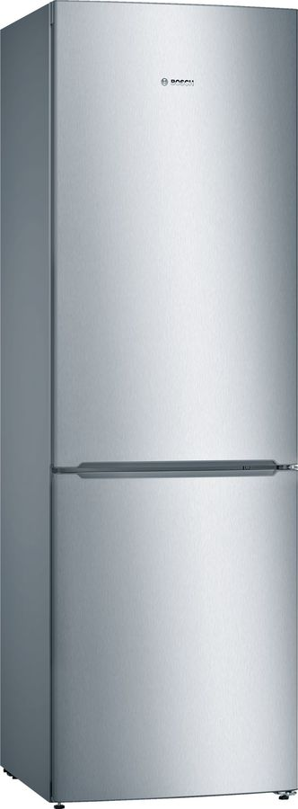 Холодильник BOSCH KGN36NL14R,  двухкамерный,  серебристый