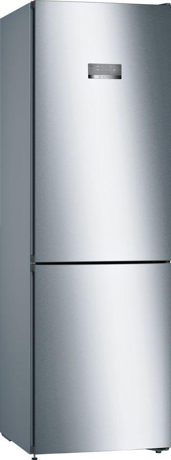 Холодильник BOSCH KGN36VI21R,  двухкамерный, нержавеющая сталь