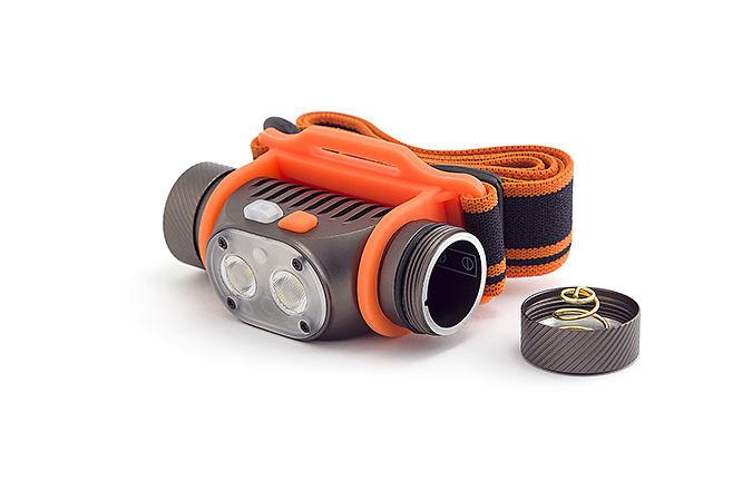 Налобный фонарь ЯРКИЙ ЛУЧ Panda 2M, оранжевый