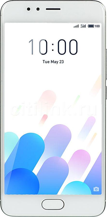 Смартфон MEIZU M5s 32Gb,  M612H,  серебристый