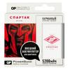 Внешний аккумулятор GP Portable PowerBank 1C05AWE-2CRFB1 Спартак1,  белый/красный