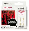 Внешний аккумулятор GP Portable PowerBank 1C05AWE-2CRFB1 Спартак3,  белый/красный