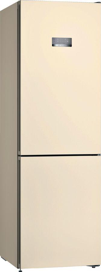 Холодильник BOSCH KGN36VK21R,  двухкамерный,  бежевый