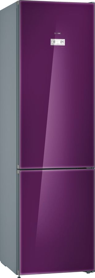 Холодильник BOSCH KGN39JA3AR,  двухкамерный,  фиолетовый
