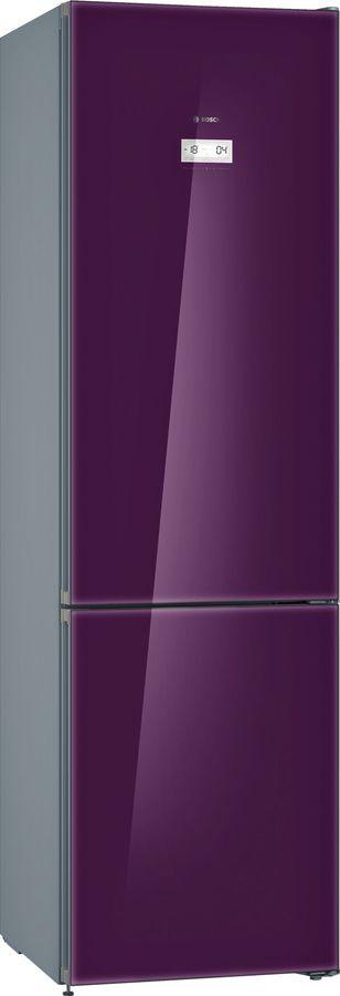 Холодильник BOSCH KGN39LA3AR,  двухкамерный,  фиолетовый