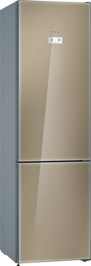 Холодильник BOSCH KGN39LQ3AR,  двухкамерный,  кварцевое стекло