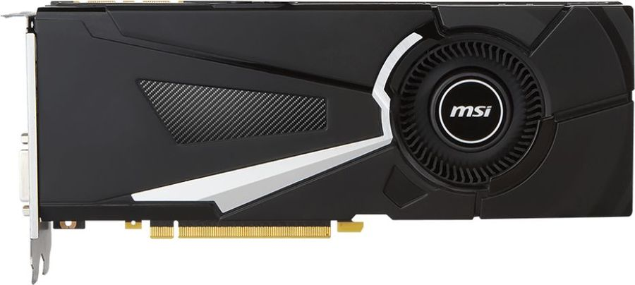 Видеокарта MSI nVidia  GeForce GTX 1070Ti ,  GeForce GTX 1070 Ti AERO 8G,  8Гб, GDDR5, OC,  Ret