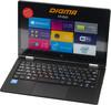 Ноутбук-трансформер DIGMA CITI E222, ES2016EW,  серебристый