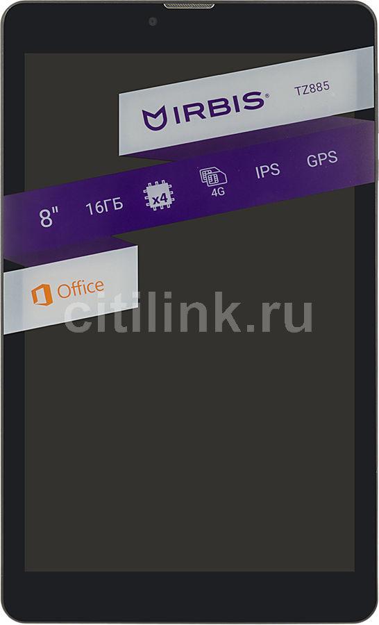 Планшет IRBIS TZ885,  1GB, 8GB, 3G,  4G,  Android 7.0 черный