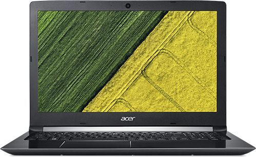Ноутбук ACER Aspire A515-51G-539Q, 15.6, Intel Core i5 7200U 2.5ГГц, 4Гб, 500Гб, nVidia GeForce Mx150 - 2048 Мб, Windows 10, NX.GPCER.003, черный