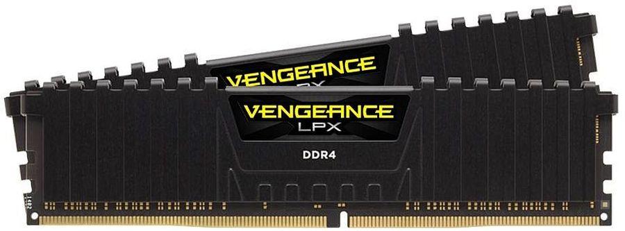 Модуль памяти CORSAIR Vengeance LPX CMK16GX4M2D3200C16 DDR4 -  2x 8Гб 3200, DIMM,  Ret