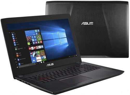 """Ноутбук ASUS FX502VM-FY156R, 15.6"""", Intel  Core i7  6700HQ 2.6ГГц, 16Гб, 1000Гб, 256Гб SSD,  nVidia GeForce  GTX 1060 - 3072 Мб, Windows 10 Professional, 90NB0DR5-M02890,  черный"""