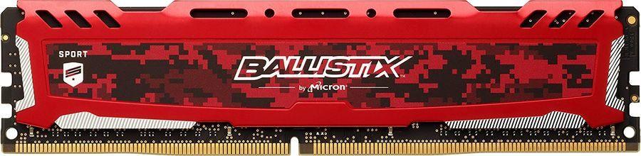 Модуль памяти CRUCIAL Ballistix Sport LT BLS16G4D240FSE DDR4 -  16Гб 2400, DIMM,  Ret