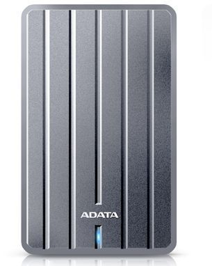 Внешний жесткий диск A-DATA DashDrive Durable AHC660-2TU3-CGY, 2Тб, серый