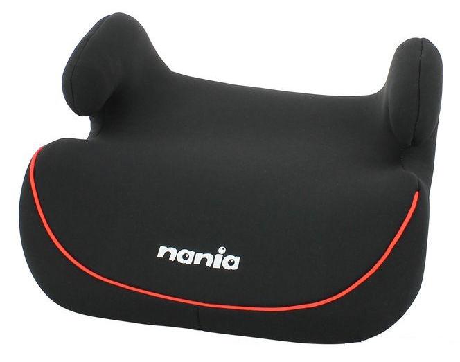 Бустер NANIA Topo Comfort ECO (black red), 2/3, черный/красный [548916]