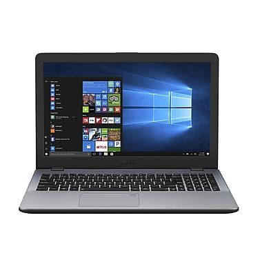 Ноутбук ASUS VivoBook X542UN-DM163T, 15.6, Intel Core i7 7500U 2.7ГГц, 8Гб, 2Тб, nVidia GeForce Mx150 - 4096 Мб, DVD-RW, Windows 10, 90NB0G82-M02680, темно-серый