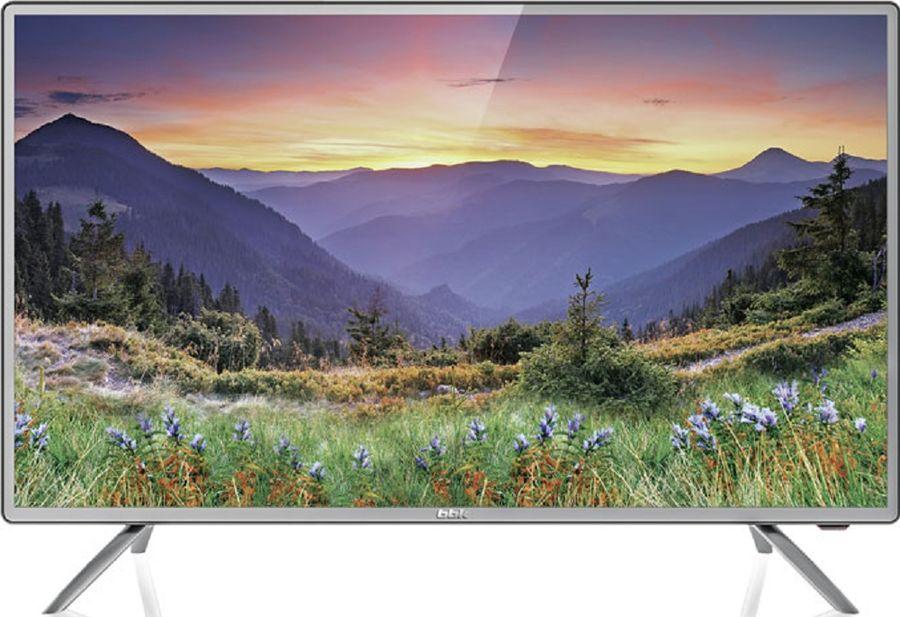"""LED телевизор BBK 32LEX-5042/T2C  """"R"""", 32"""", HD READY (720p),  темно-серебристый"""