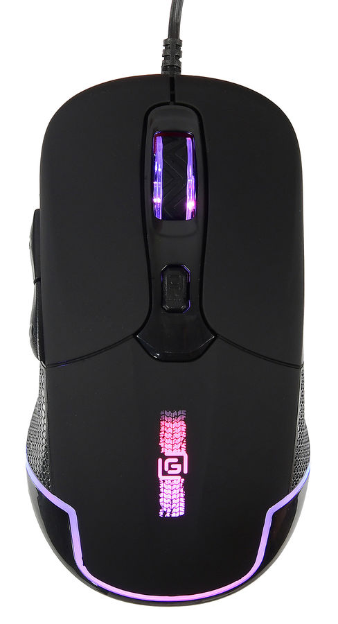 Мышь OKLICK 965G RACER оптическая проводная USB, черный
