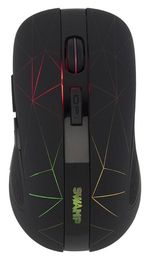 Купить Мышь ОКЛИК 975GW SWAMP, беспроводная, USB, черный в интернет-магазине СИТИЛИНК, цена на Мышь ОКЛИК 975GW SWAMP, беспроводная, USB, черный (1018262) - Старый Оскол