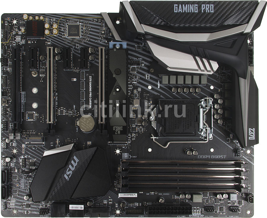Материнская плата MSI Z370 GAMING PRO CARBON, LGA 1151v2, Intel Z370, ATX, Ret