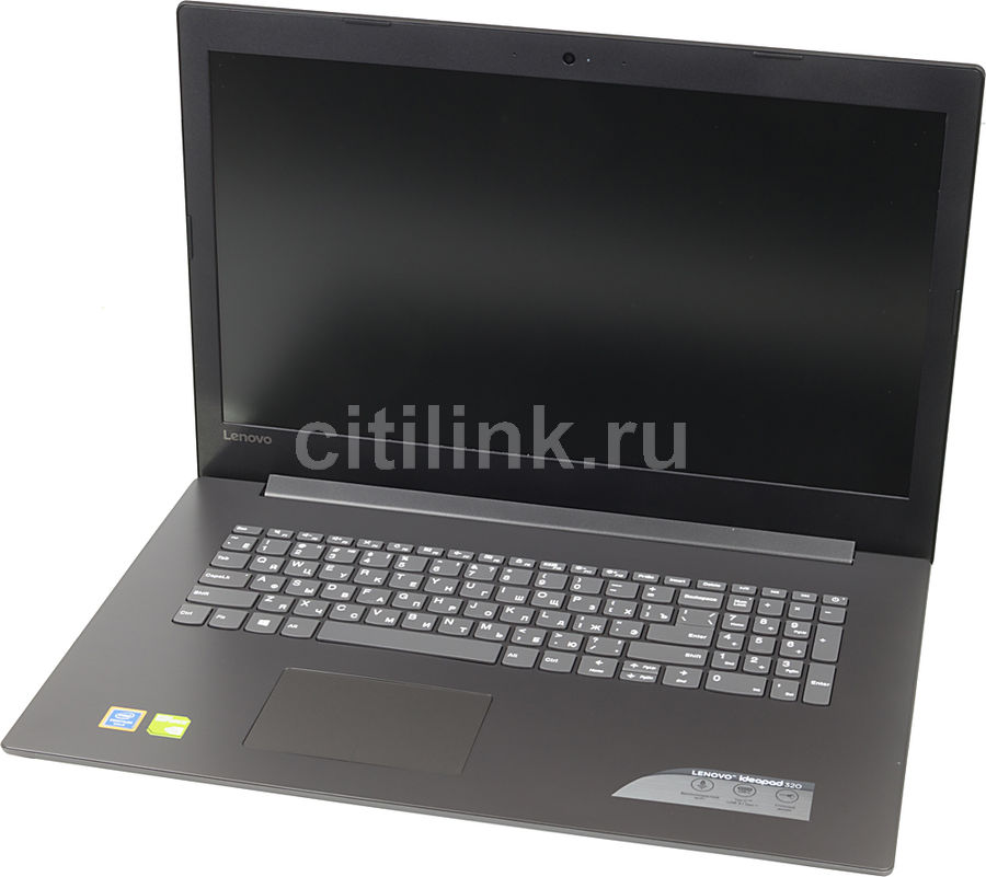 Ноутбук LENOVO IdeaPad 320-17IKB, 17.3, Intel Pentium 4415U 2.3ГГц, 8Гб, 1000Гб, nVidia GeForce 920MX - 2048 Мб, DVD-RW, Free DOS, 80XM00JURU, черный ноутбук hasee 14 intel i3 3110m dvd rw nvidia geforce gt 635m intel gma hd 4000 2 g k460n