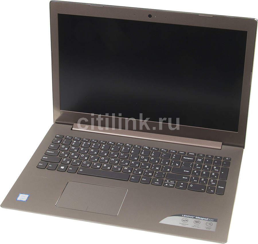 Ноутбук LENOVO IdeaPad 520-15IKB, 15.6, Intel Core i5 8250U 1.6ГГц, 8Гб, 256Гб SSD, Intel HD Graphics 620, DVD-RW, Free DOS, 81BF00G3RU, бронзовыйНоутбуки<br>экран: 15.6;  разрешение экрана: 1920х1080; тип матрицы: IPS; процессор: Intel Core i5 8250U; частота: 1.6 ГГц (3.4 ГГц, в режиме Turbo); память: 8192 Мб, DDR4, 2133 МГц; SSD: 256 Гб; Intel HD Graphics 620; DVD-RW; WiFi;  Bluetooth; HDMI; WEB-камера; Free DOS<br><br>Линейка: IdeaPad