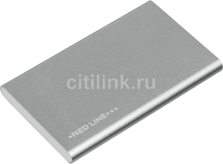 Внешний аккумулятор REDLINE J01,  4000мAч,  серебристый [ут000009486]