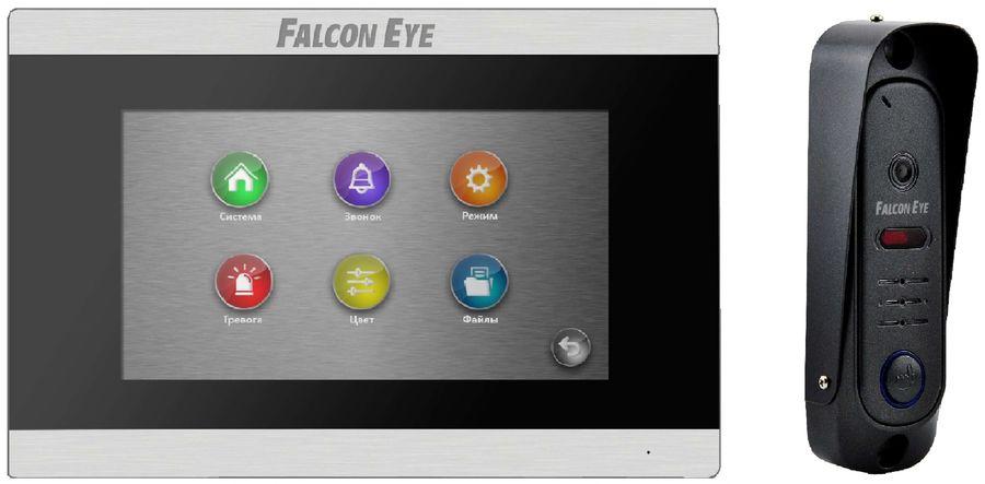 Видеодомофон FALCON EYE FE-ARIES +FE311A, черный